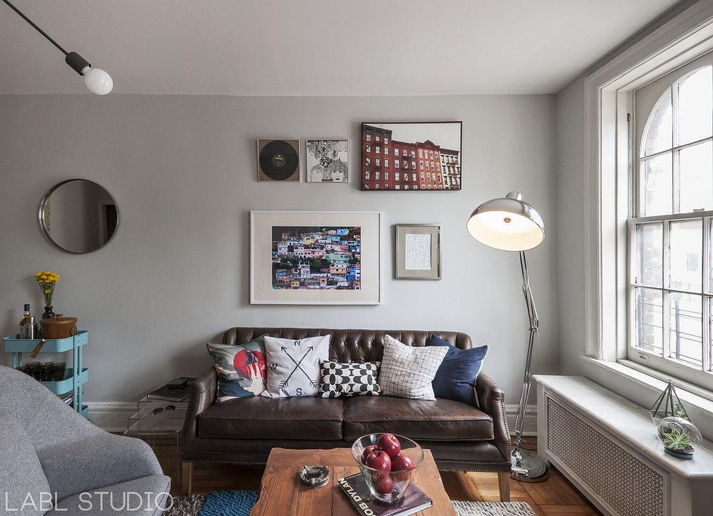 West Village Bachelor Pad by Labl Studio
