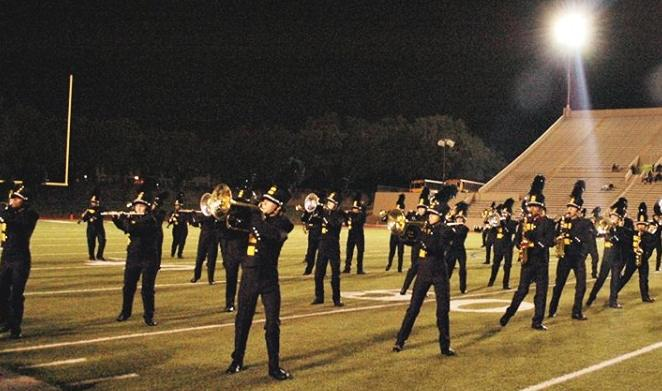 The Yellow Jacket Marching Band