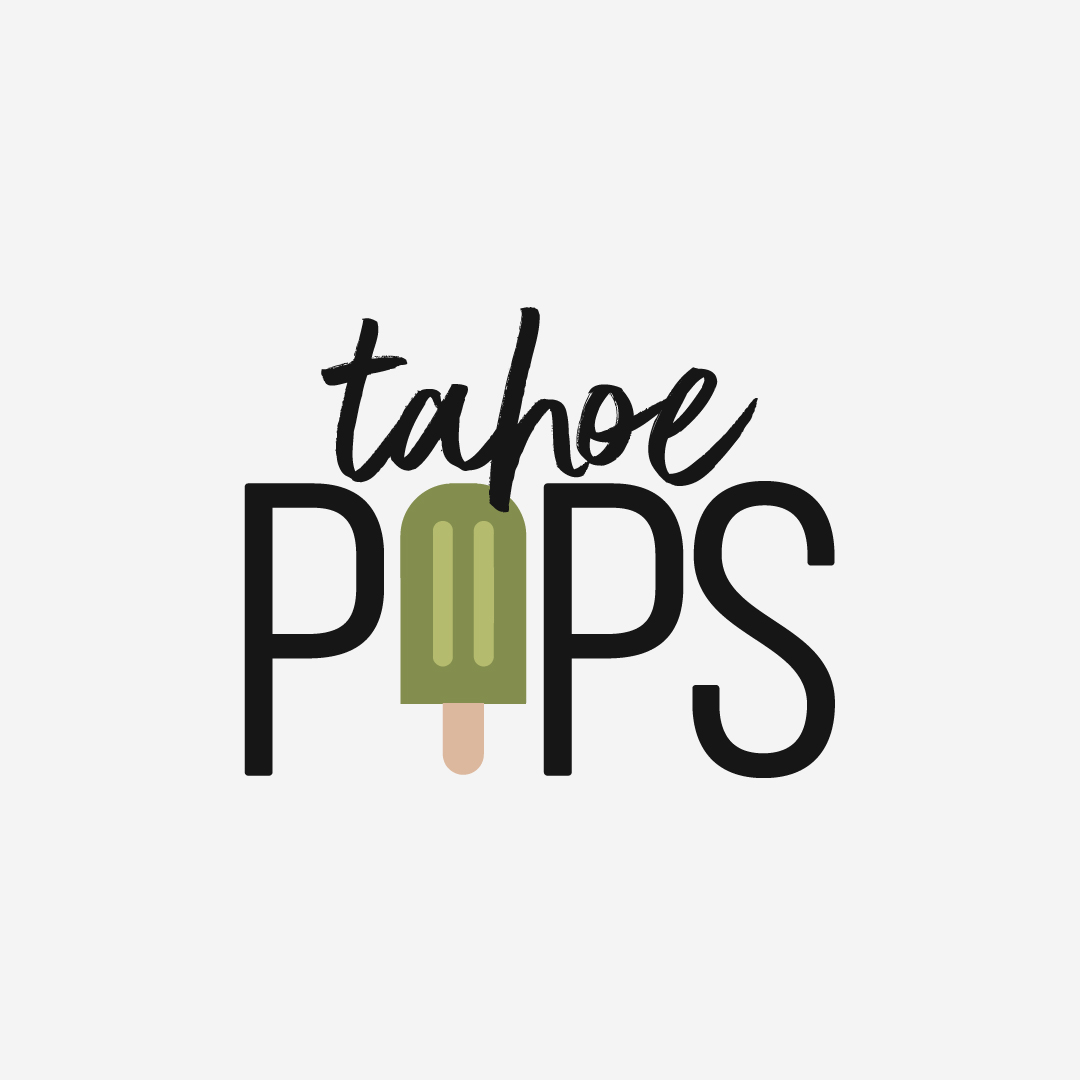 Tahoe Pops Logo Design by Perspektiiv Design Co. (South Lake Tahoe, California)