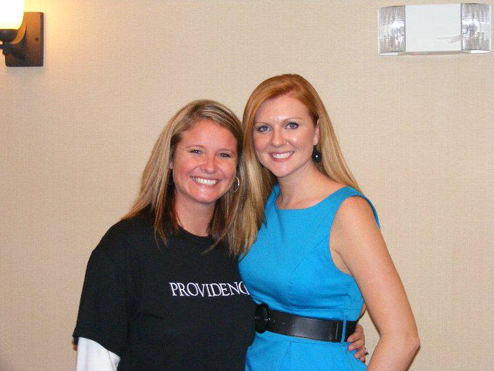 Beth and I posing for a picture at my very first book signing! (Providence, Ponca City, November 2010).jpg