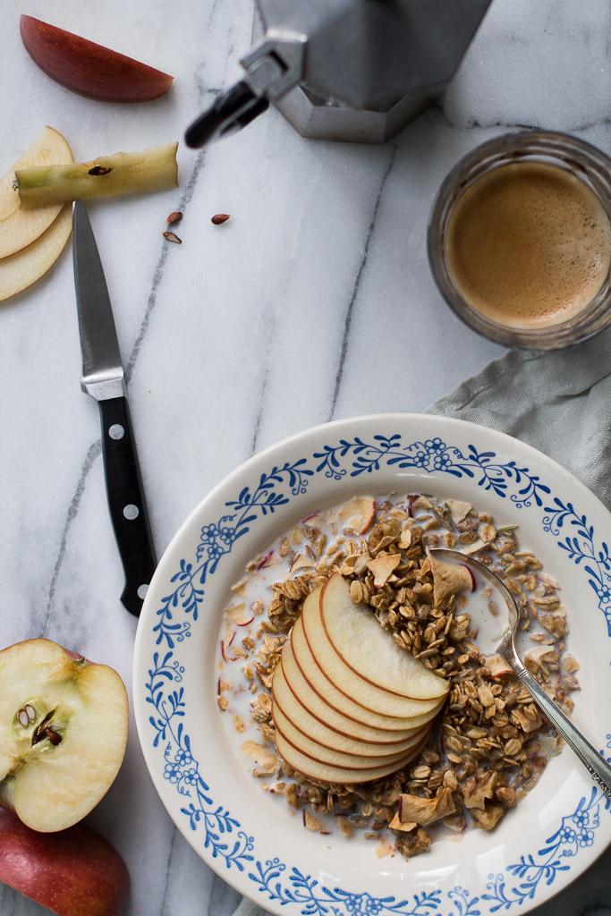 Apple-Rosemary Granola // Milly's Kitchen