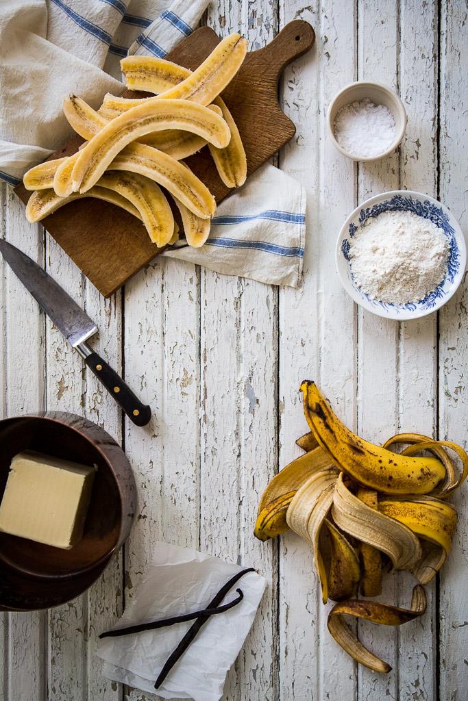banana tarte tatin // milly's kitchen
