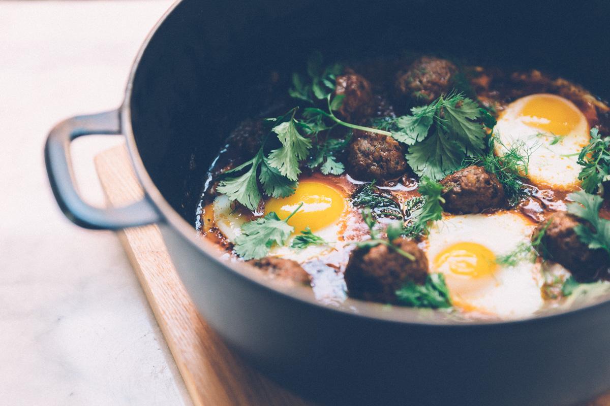 kefta shakshuka on millys-kitchen.com