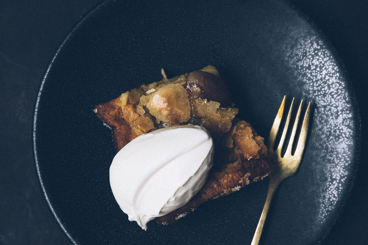 roasted grape clafoutis on millys-kitchen.com