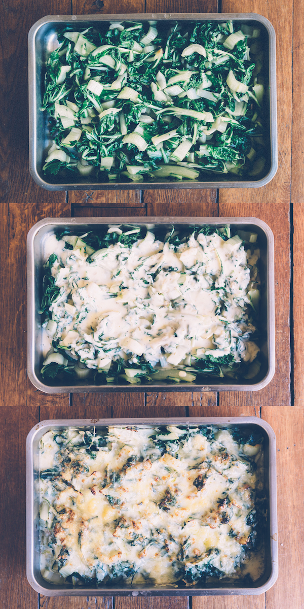 swiss chard gratin on millys-kitchen.com