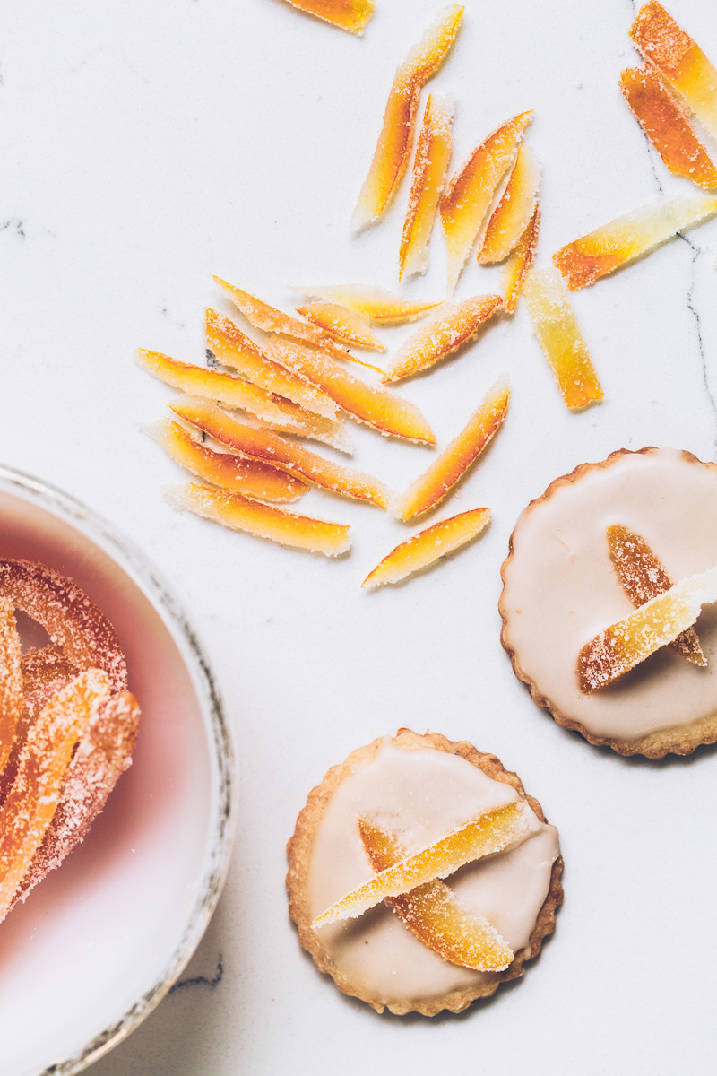 grapefruit fennel shortbread cookies on millys-kitchen.com