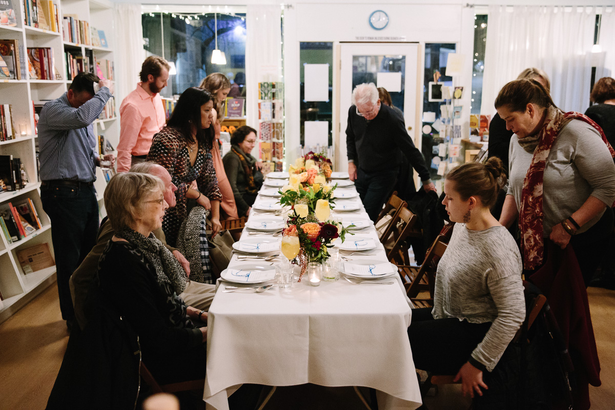 love trumps hate fundraiser dinner // photography by danielle elliott