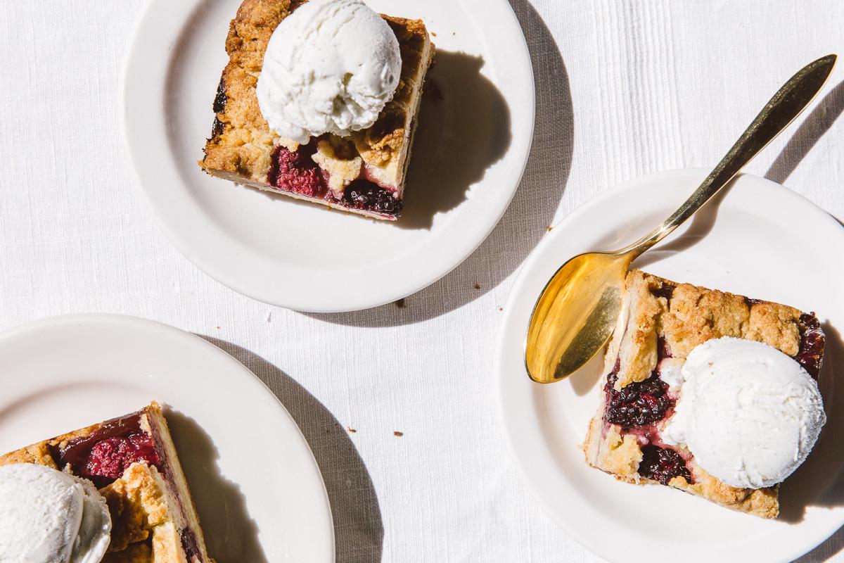almond oat berry bars. Styling/Image: Olaiya Land
