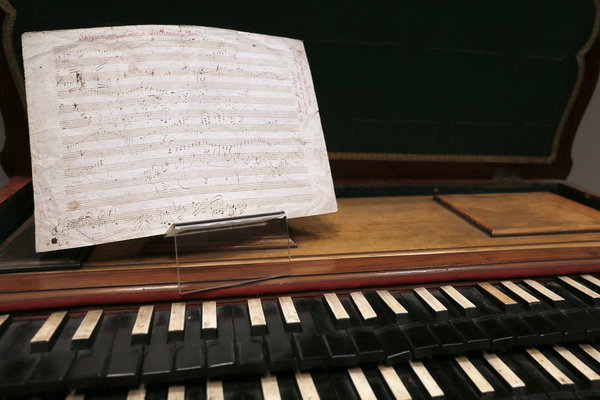 FRANCE-AUCTION-BEETHOVEN-SOTHEBY'S