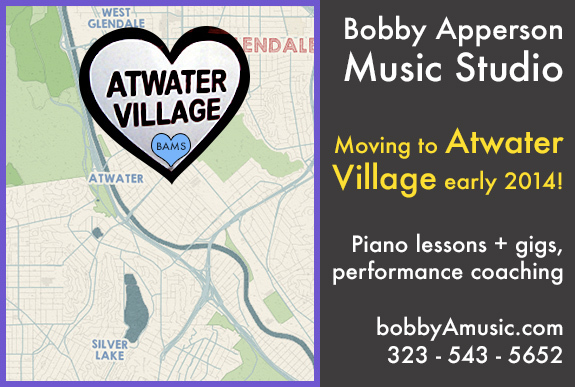 Moving to Atwater Village!