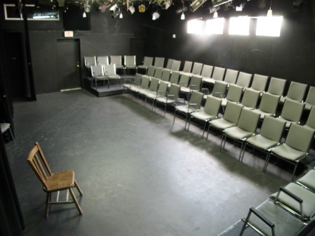 The Lyric-Hyperion Theater (stage not pictured)