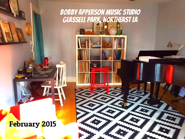 The new Glassell Park Studio, February 2015