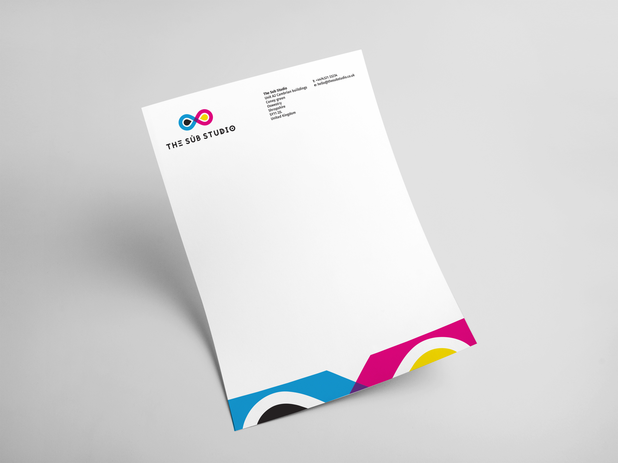 The Sub Studio Letterhead