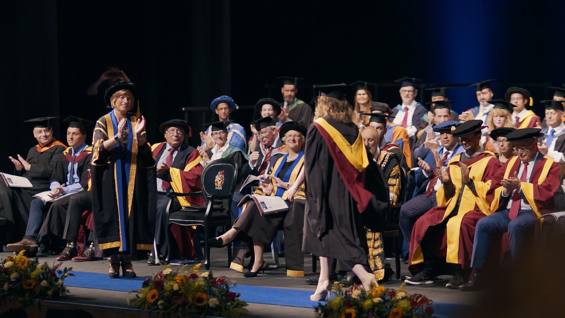Cardiff Met - Graduation Stage