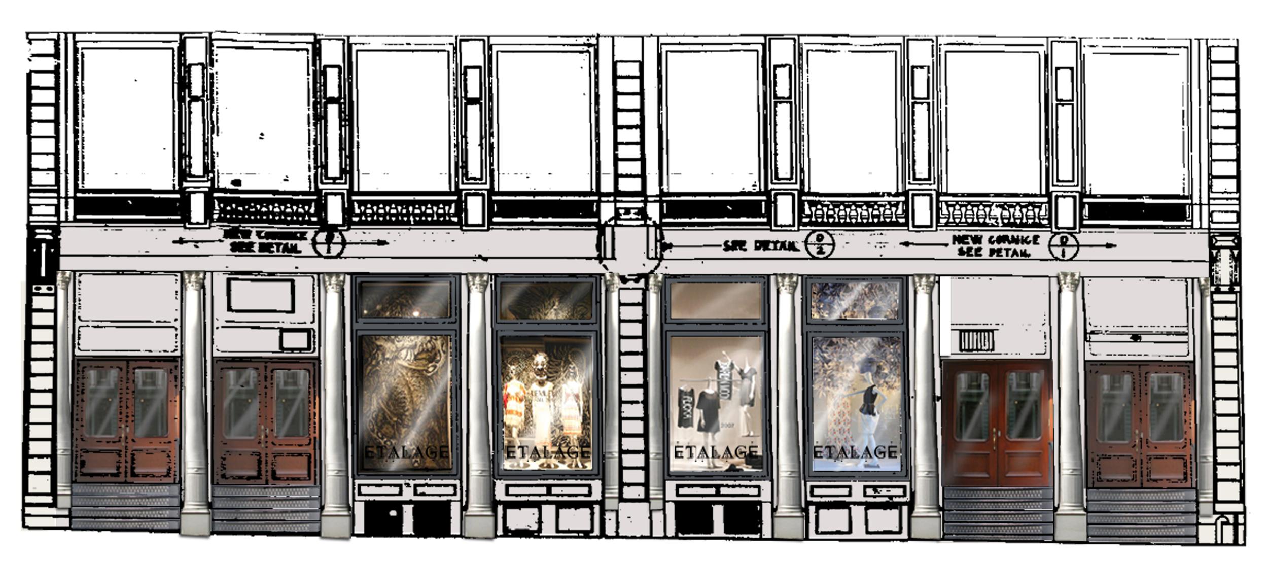 Storefront Elevation