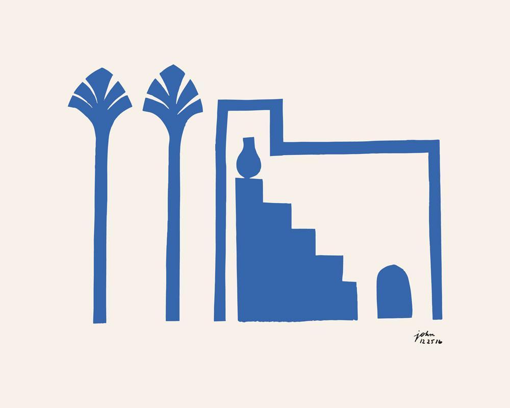 Blue Homes, John Zabawa