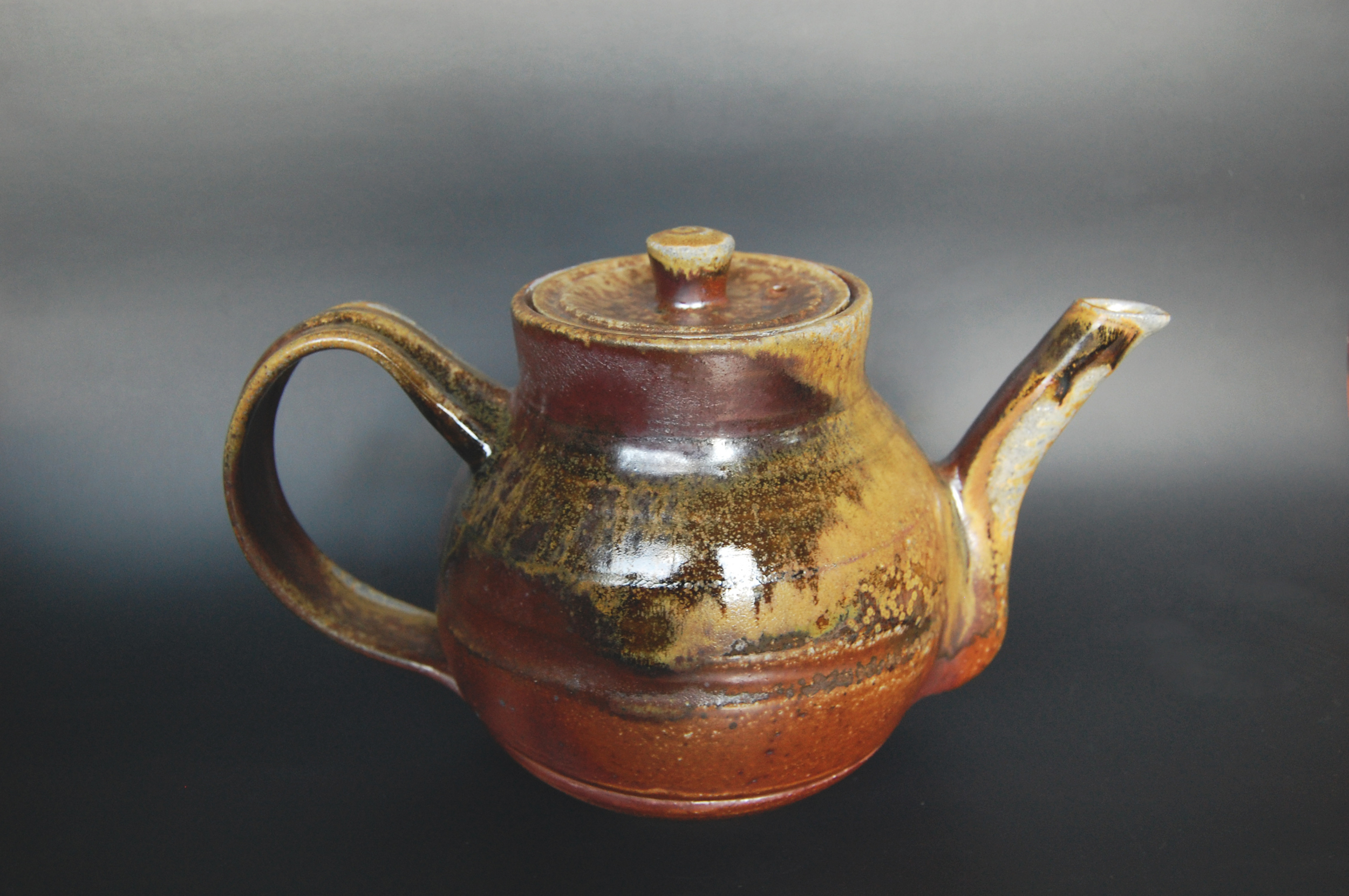 The wood fired teapot.