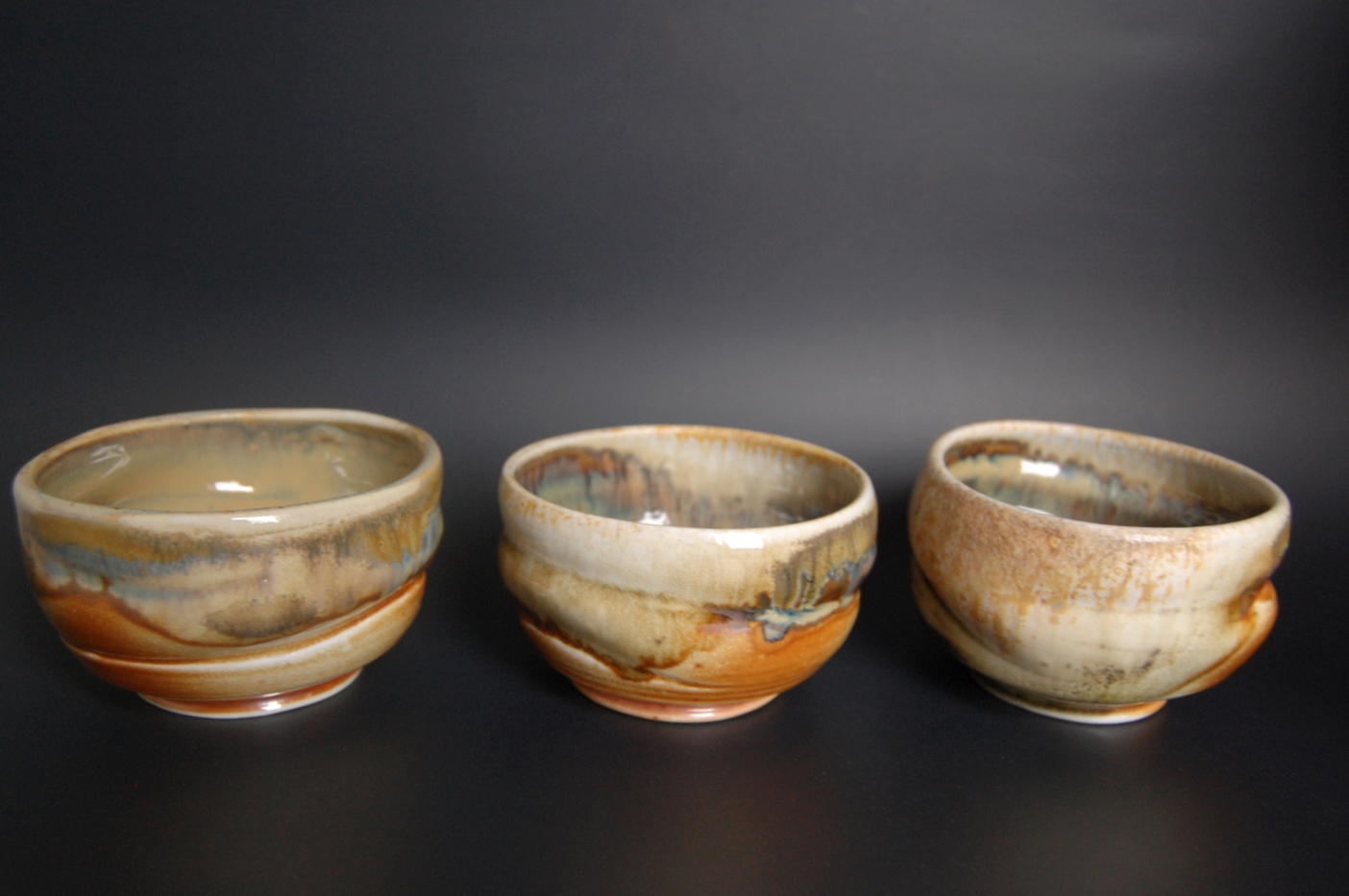 Wood Fired Tea Bowls