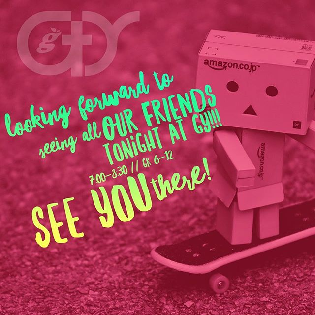 GY : GenYouth Tonight!! 7-8:30!  Doors will open at 6:45! Grades 6-12 // GP Christian School #gygenyouth #youthministry #jesusisreal