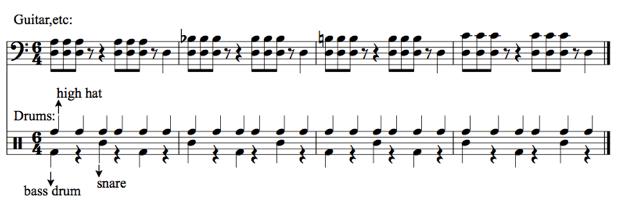 Rock Hemiolas — Brad Mehldau