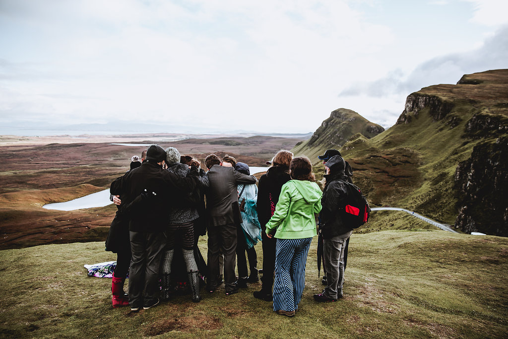 Quiraing Wedding Ceremony - Isle of Skye, Scotland Elopement - Wedding Videographer - Wedding Photographer