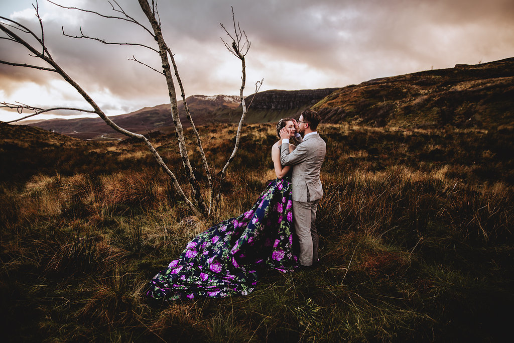 Old Man of Storr - Isle of Skye, Scotland - Wedding Videographer - Wedding Photographer