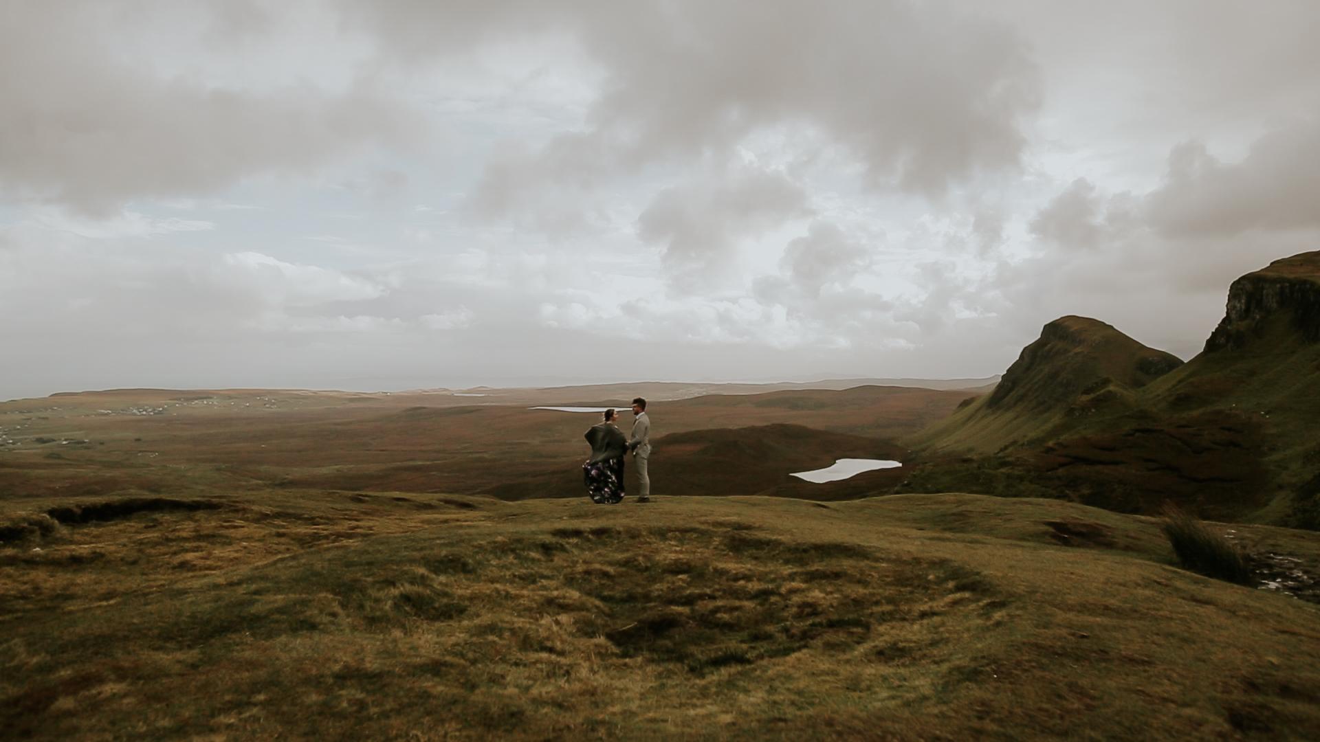 Quirang Wedding Ceremony Isle of Skye Wedding Videographer