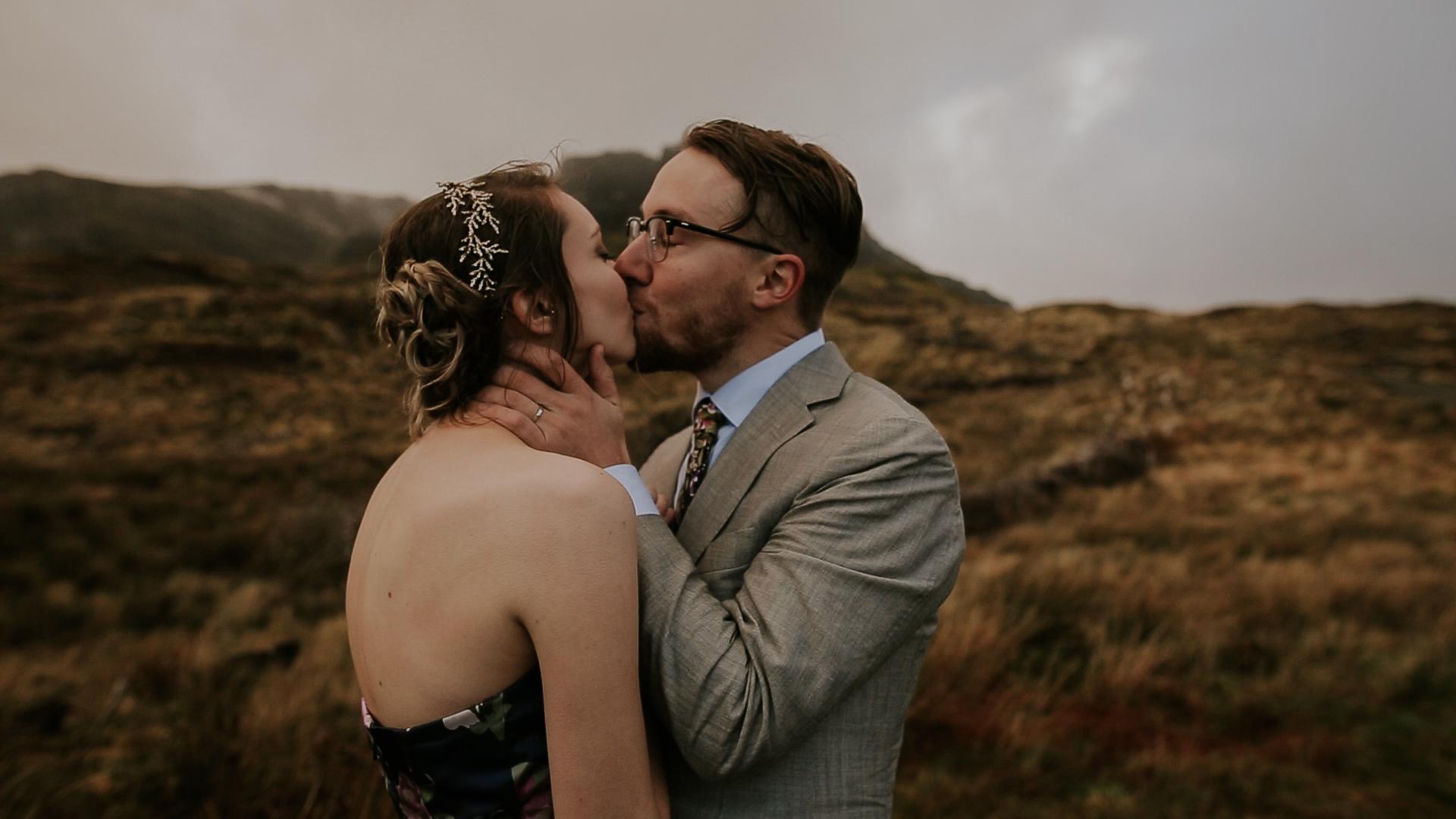 Old Man of Storr Isle of Skye Wedding Videographer