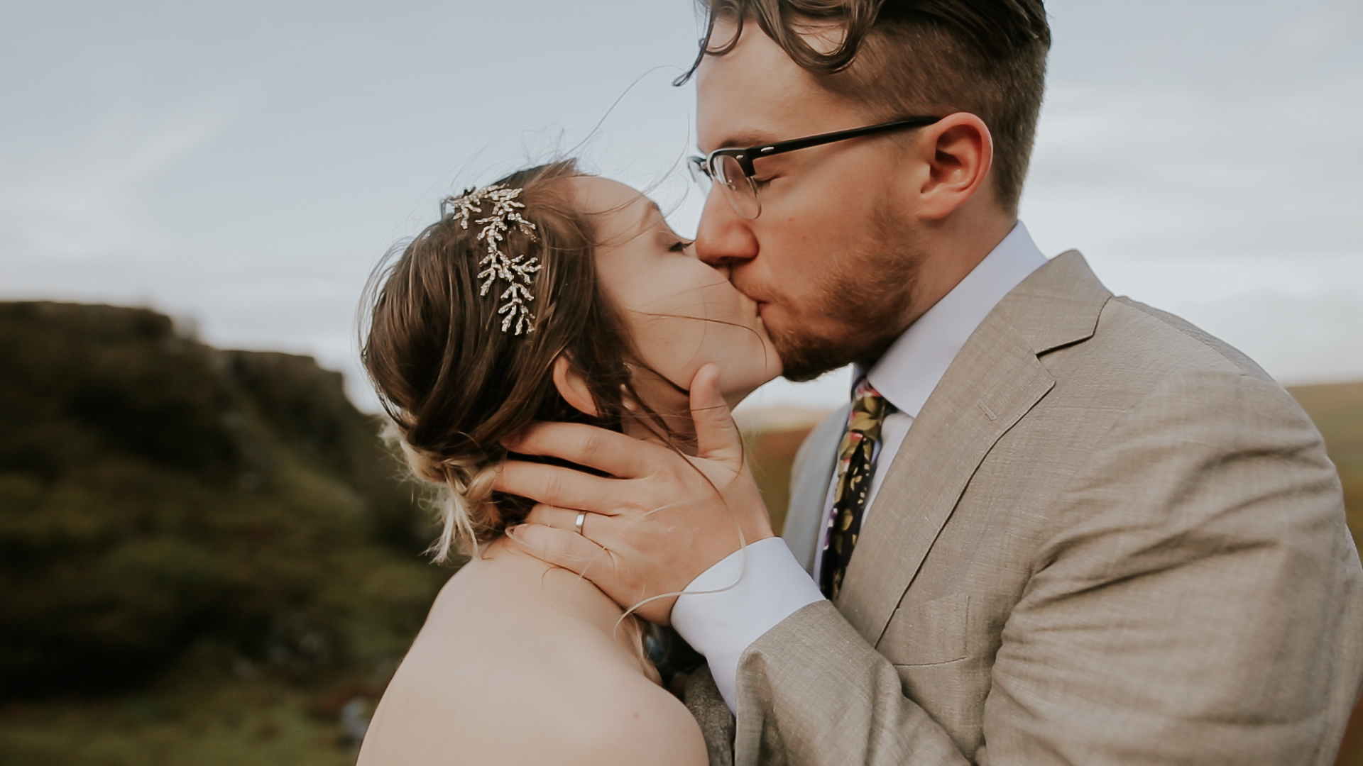 Faerie Glen Isle of Skye Wedding Videographer