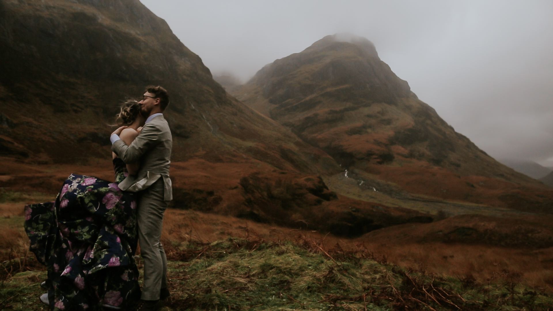 Glencoe Isle of Skye Wedding Videographer