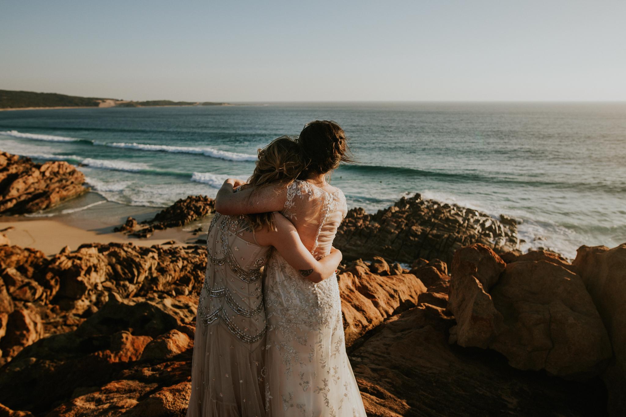 Catie + Jessica   Western Australia   Elopement Photo + Video