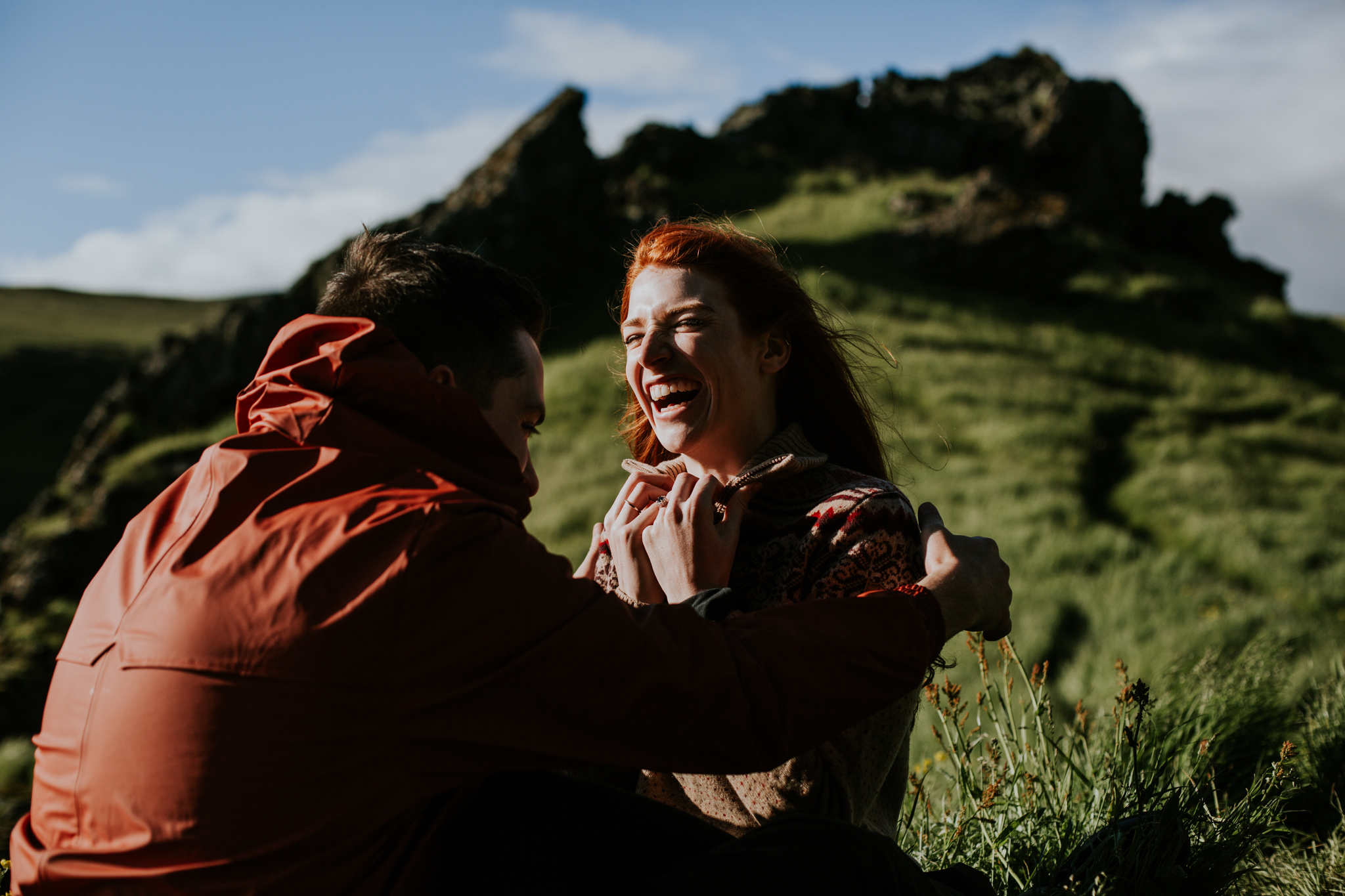 Heather + Mike | Iceland Adventure Session