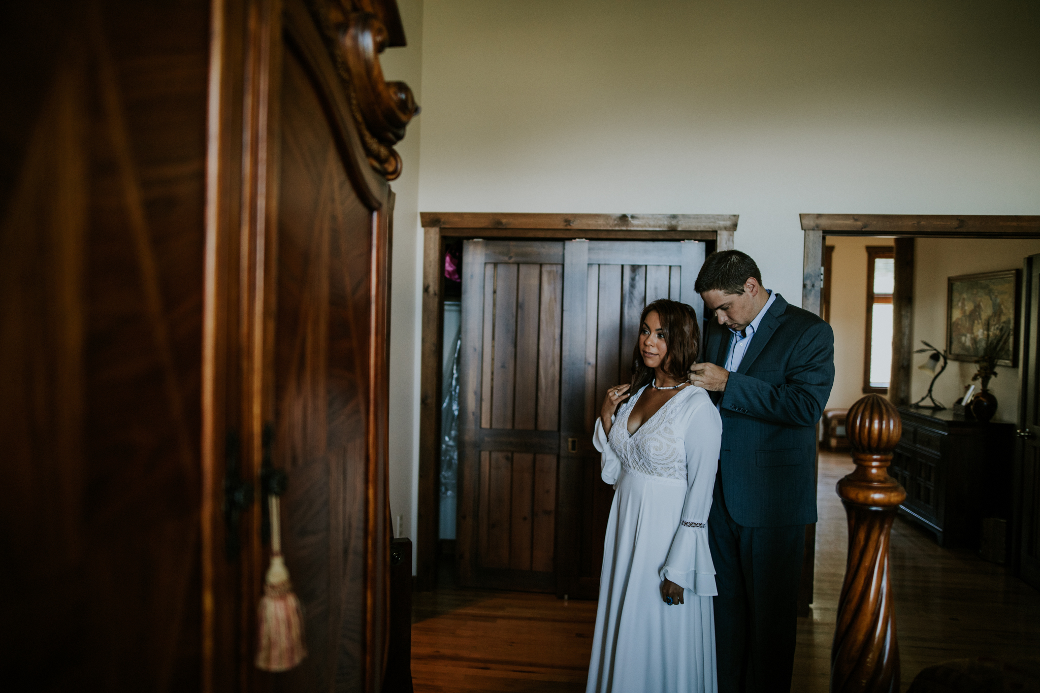 Destination Elopement Photographer - Vow of the Wild - Rocky Mountain National Park - Getting Ready