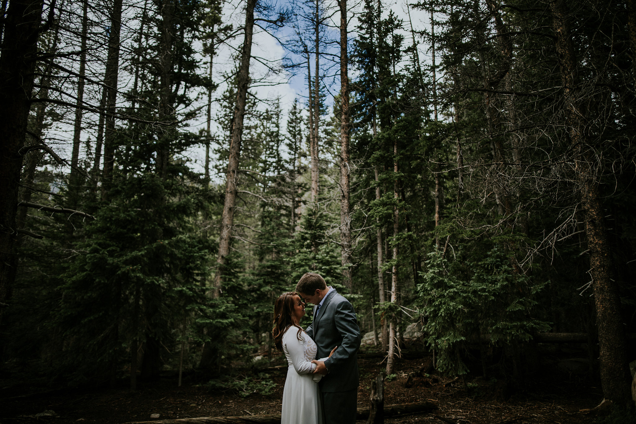 Elle + Ben | Rocky Mountain National Park | Elopement Photo + Video