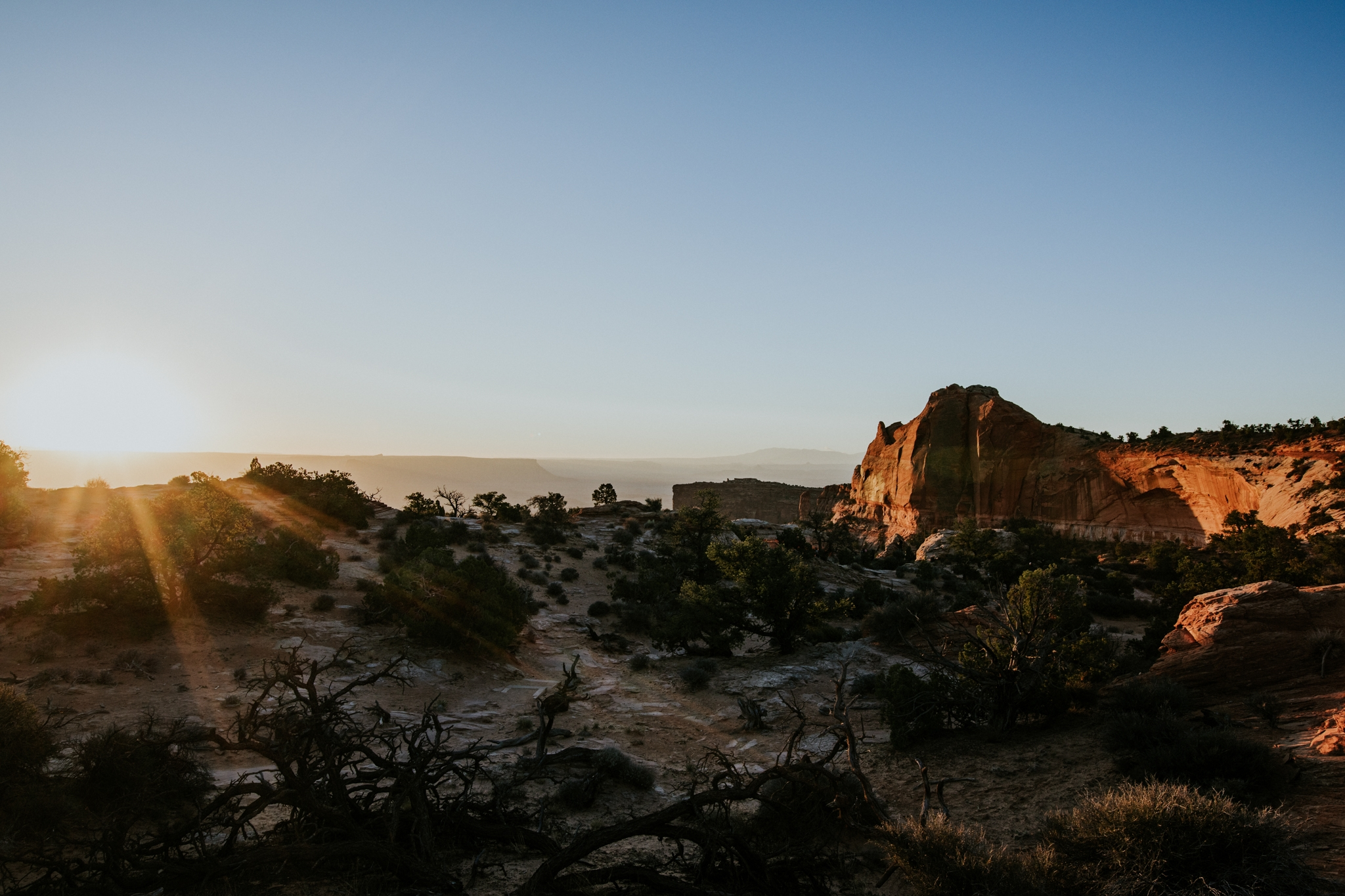 Canyonlands National Park - Mesa Arch Sunrise - Moab Elopement Photographer - Moab Elopement Videographer - Vow of the Wild
