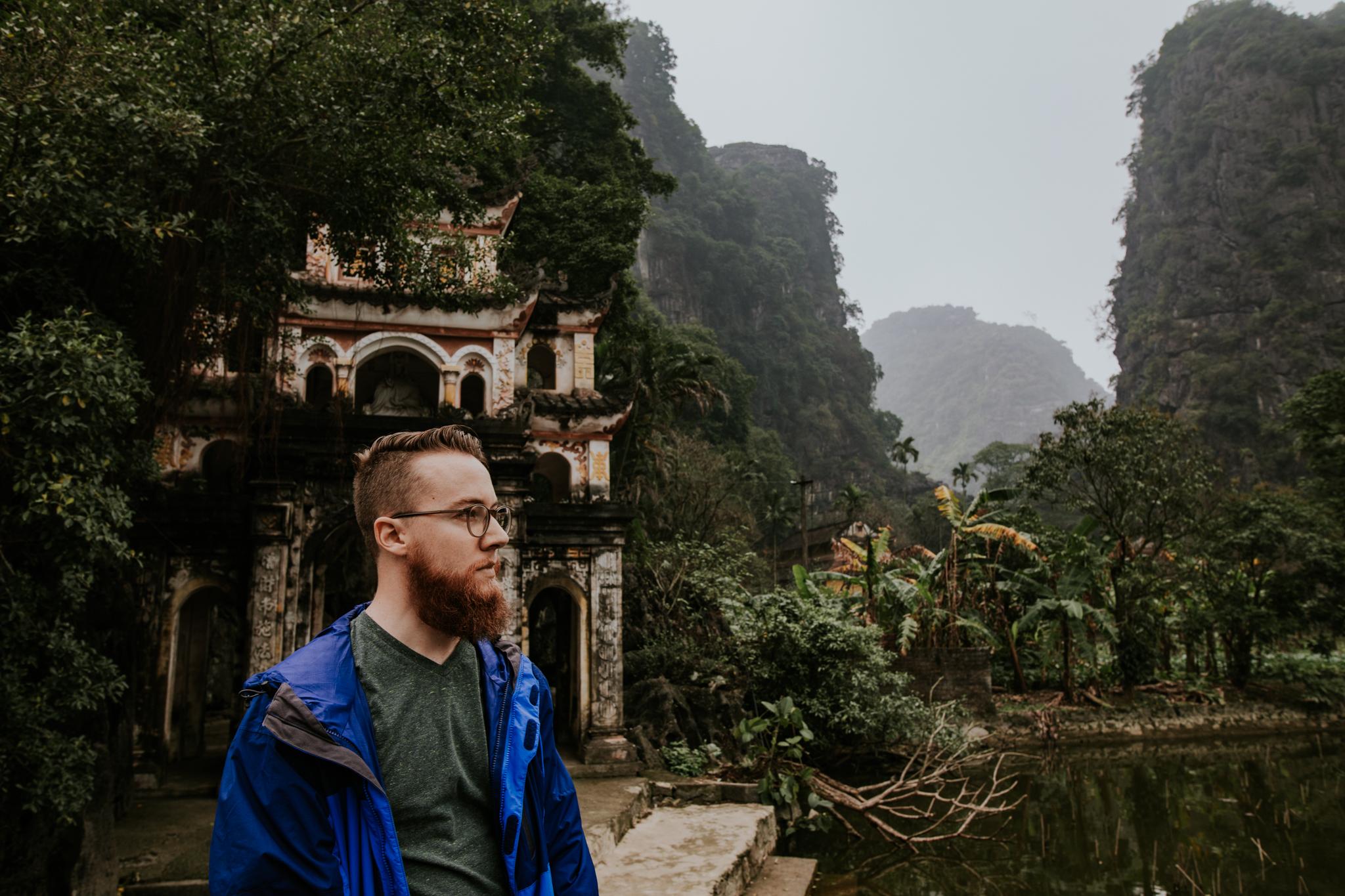 Bich Dong Pagoda - Ninh Binh Vietnam   Destination Elopement Photographer   Vow of the Wild