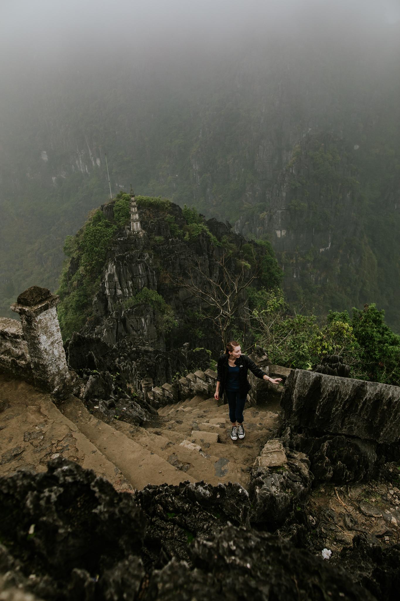 Hang Mua - Ninh Binh Vietnam   Destination Elopement Photographer   Vow of the Wild