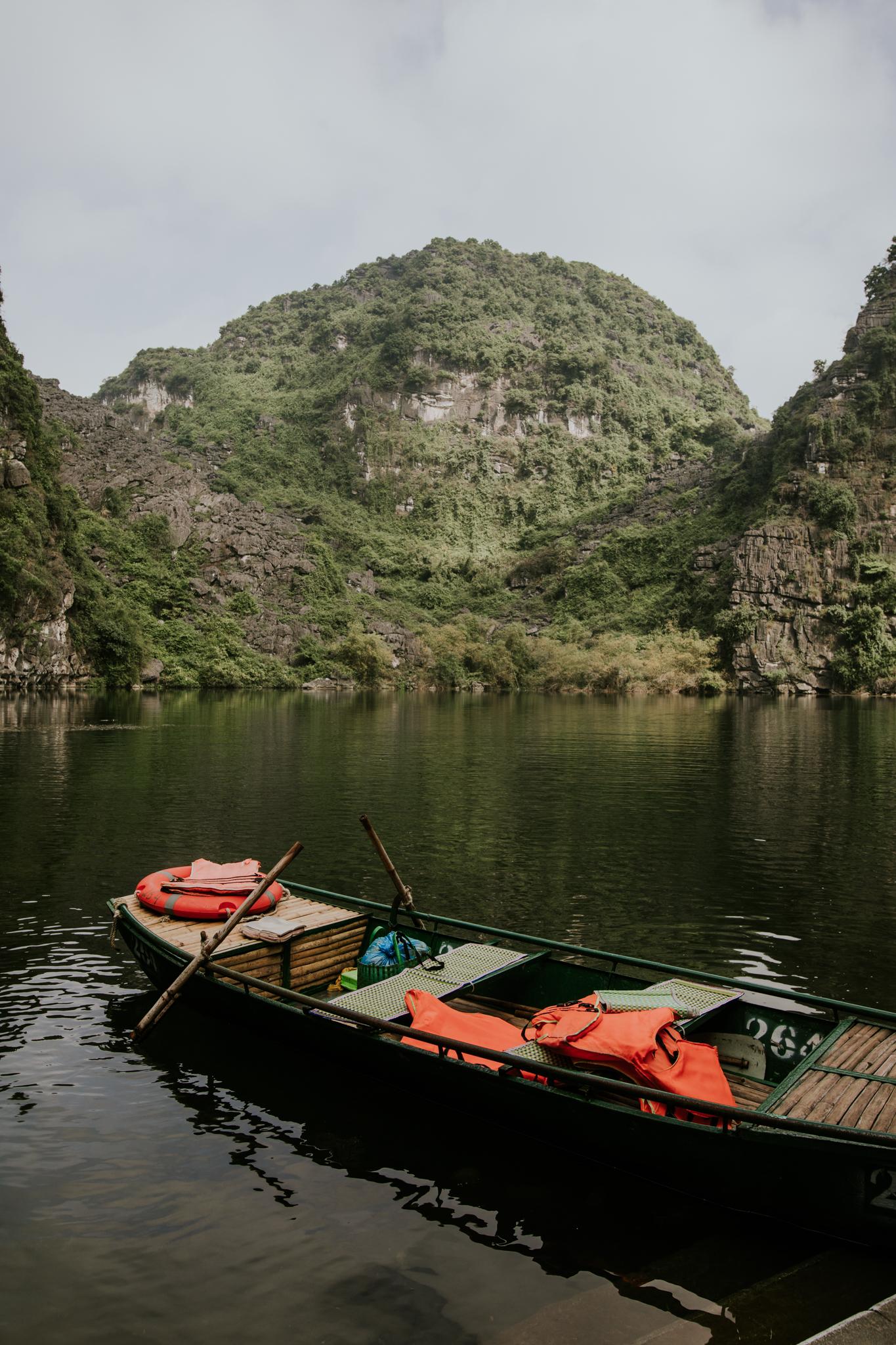 Trang An Grottoes Boat Ride - Ninh Binh Vietnam   Destination Elopement Photographer   Vow of the Wild