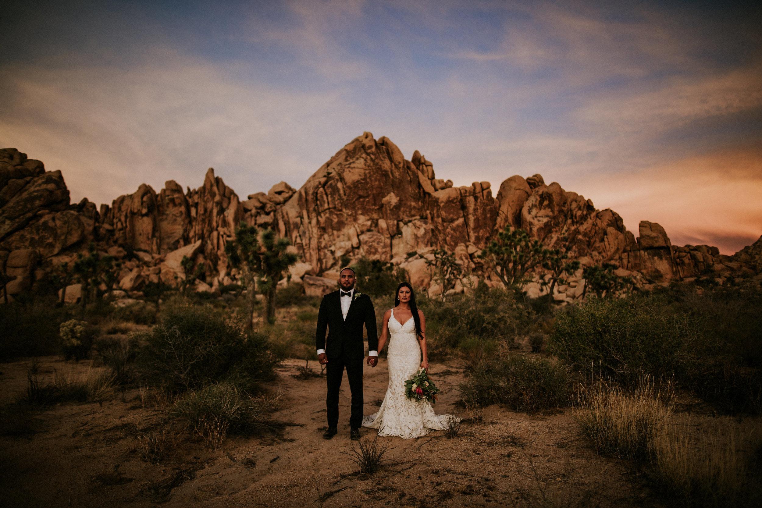 Amanda + Hass | Joshua Tree National Park, California | Elopement Photo + Video