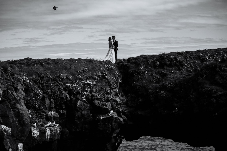 Iceland Wedding Photographer - Vow of the Wild - Snæfellsnes Peninsula Wedding - Arnarstapi