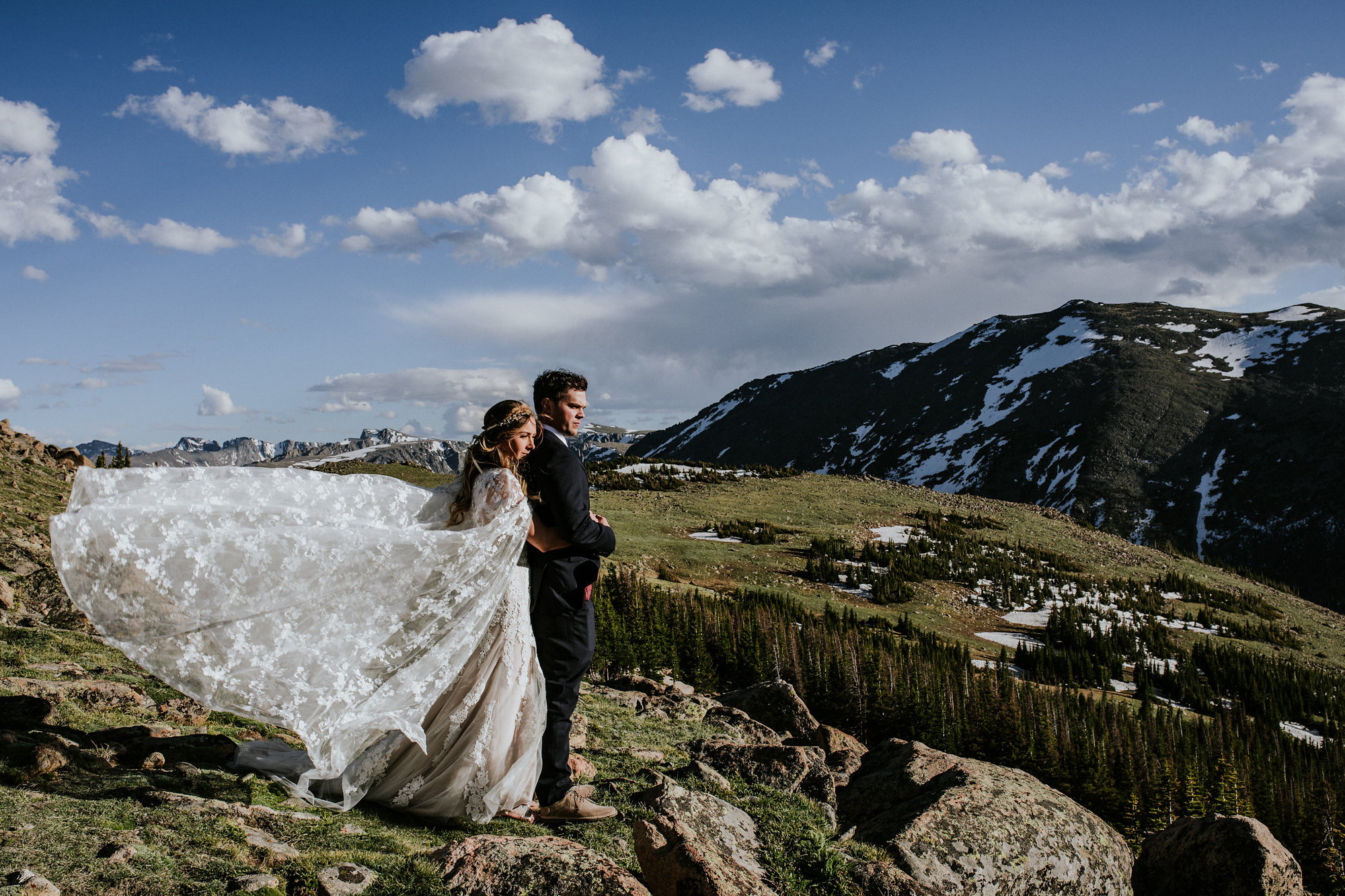 Angela + Jason   Rocky Mountain National Park   Colorado Elopement Photo + Video