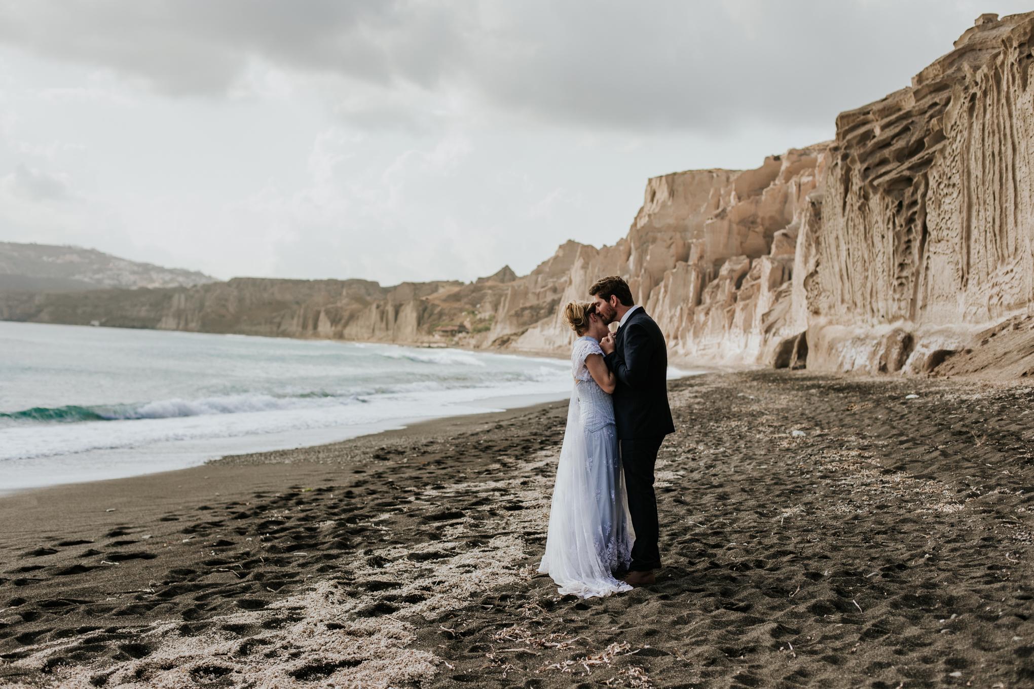 Whitney + Chris in Santorini, Greece