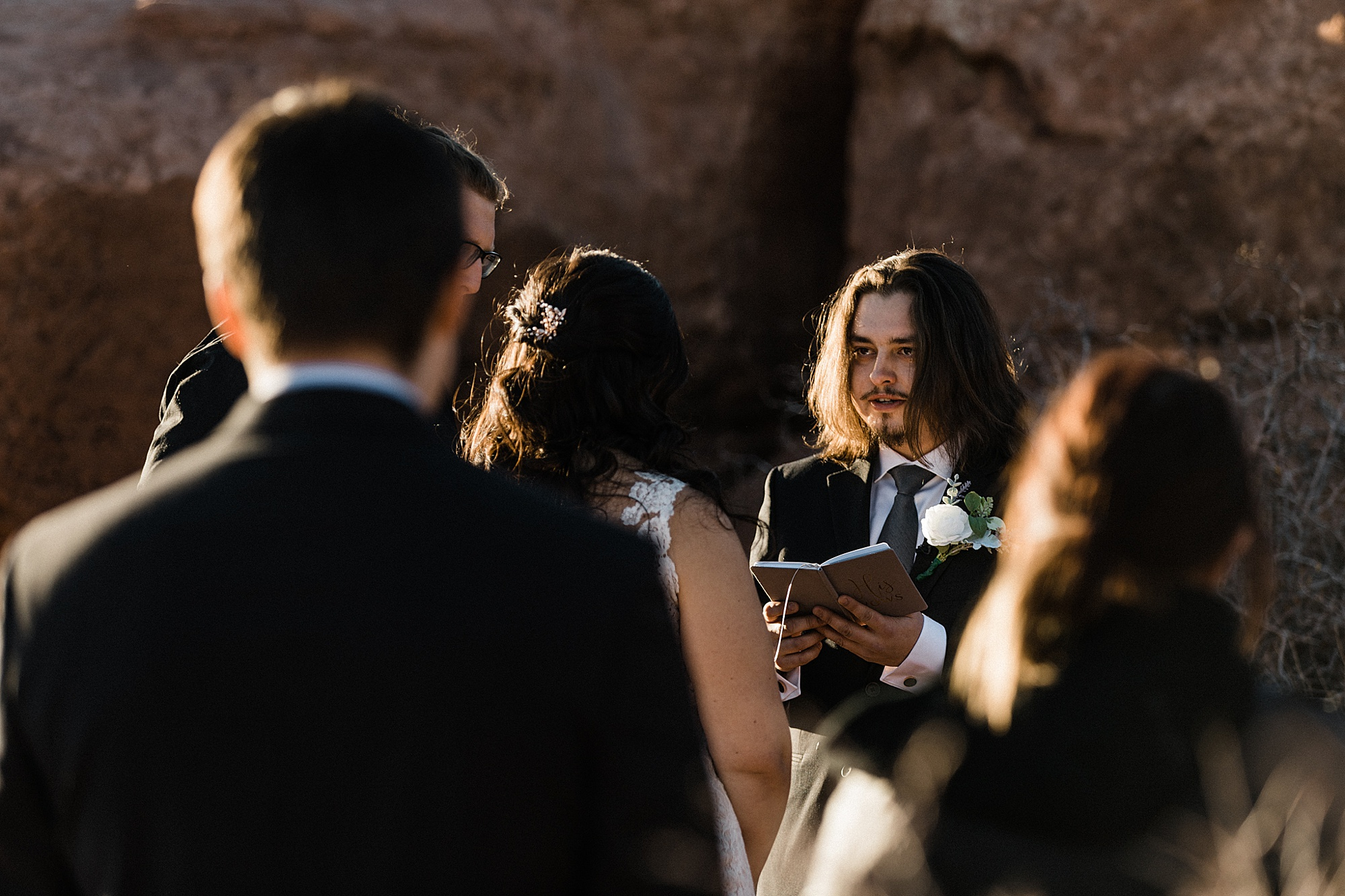 Adventurous Moab Elopement | Destination Elopement Photographer + Videographer | Dead Horse Point State Park Wedding | Vow of the Wild