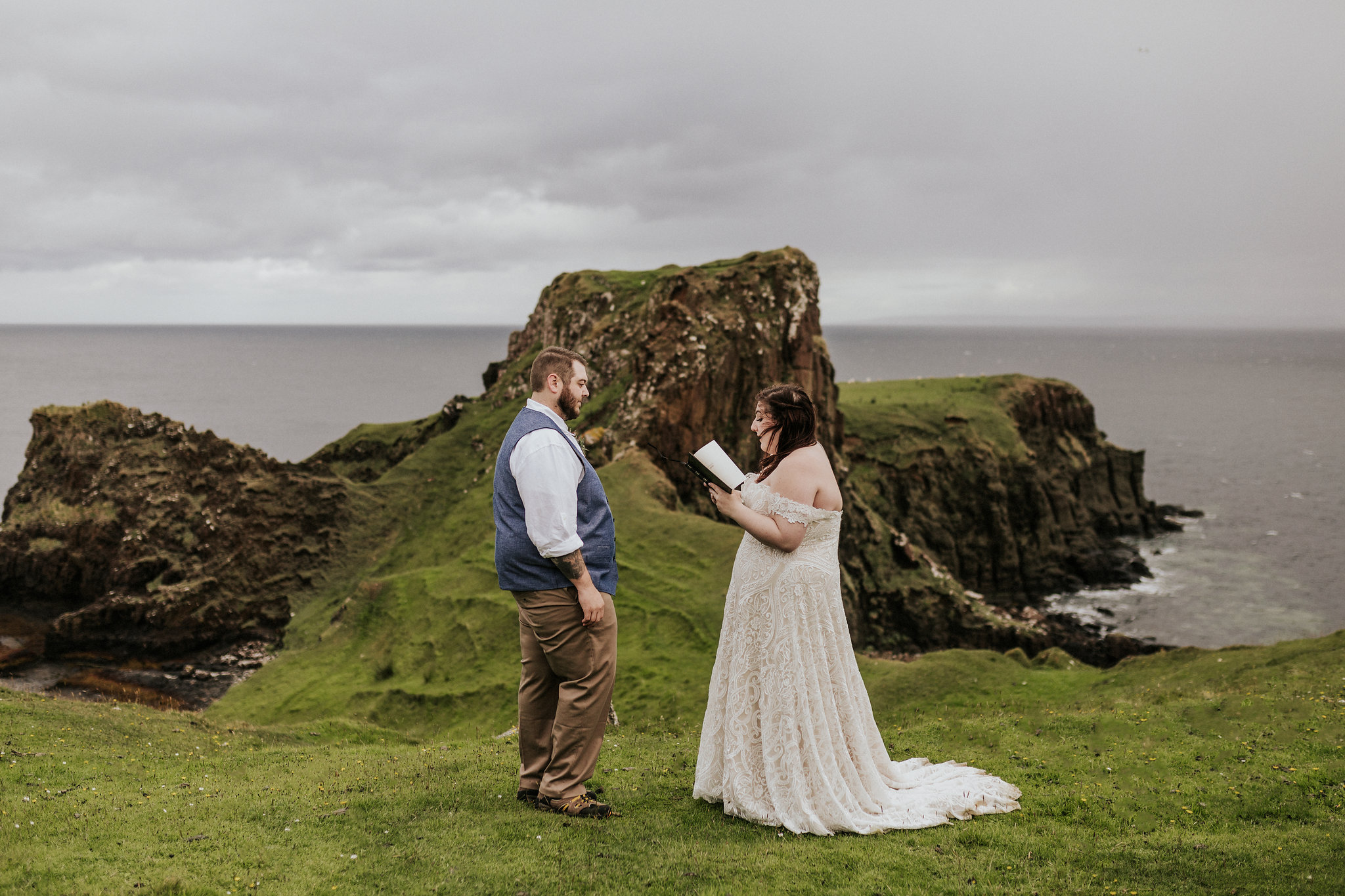 isle of skye hiking elopement