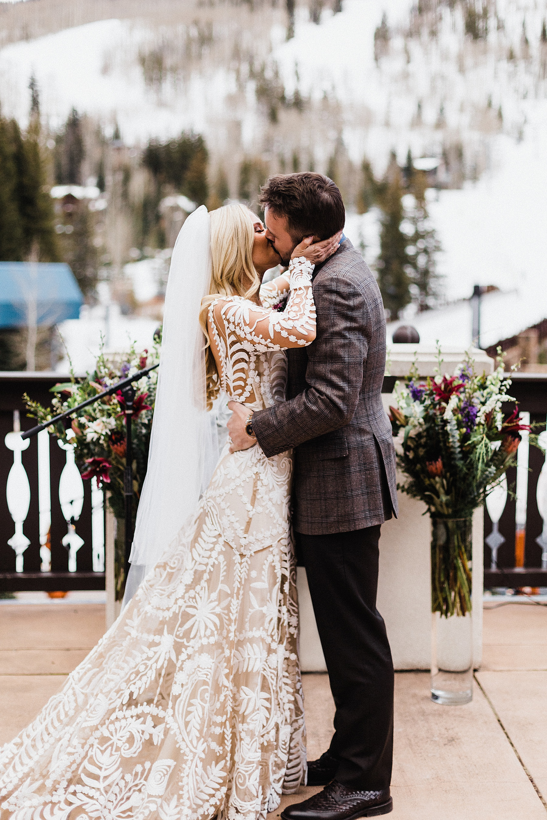 Mountaintop Elopement | Colorado Elopement Photographer + Videographer | Vow of the Wild
