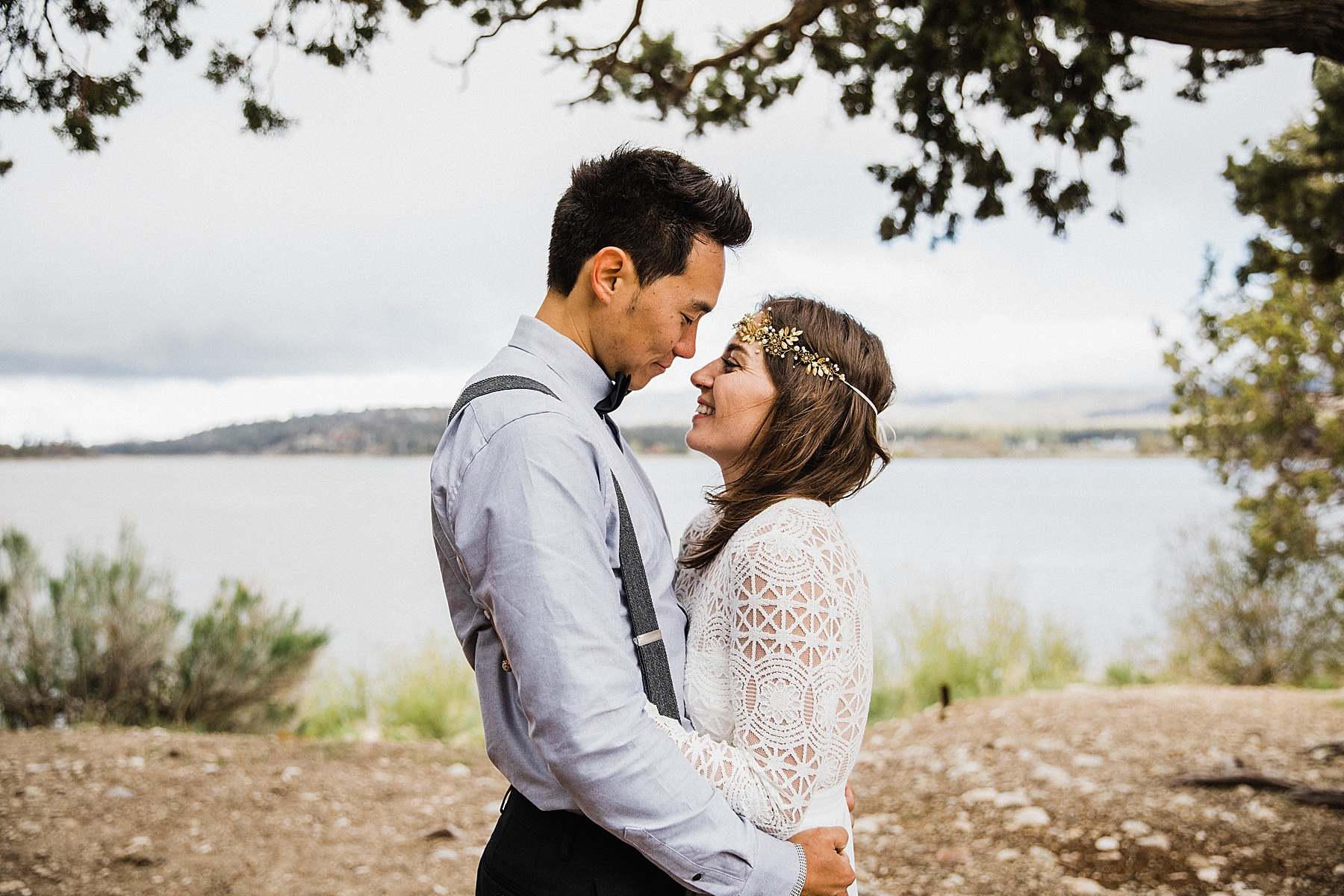 California Forest Intimate Wedding | Vow of the Wild