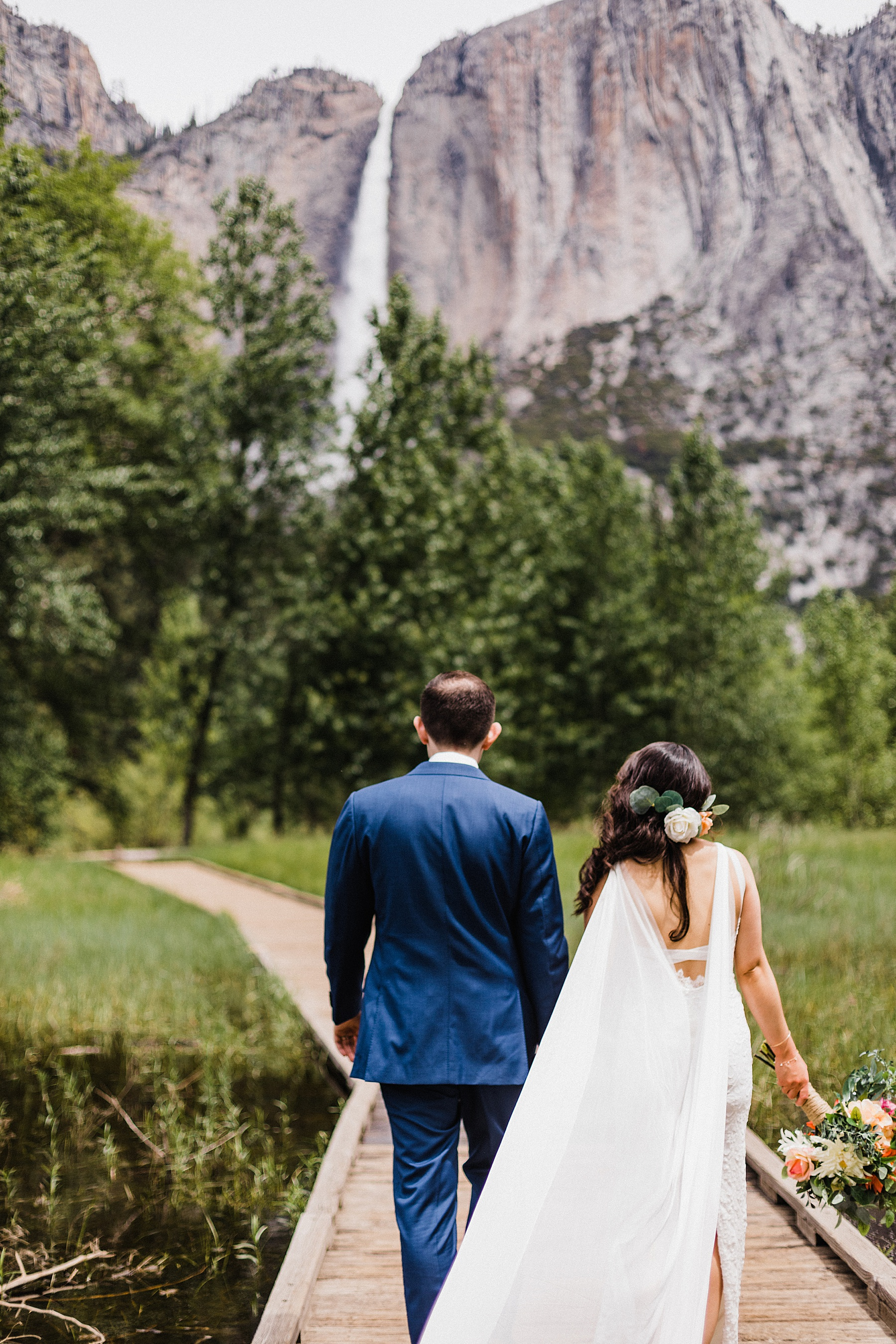 Cathedral Beach Ceremony | Yosemite Elopement | California Elopement Photographer | Vow of the Wild