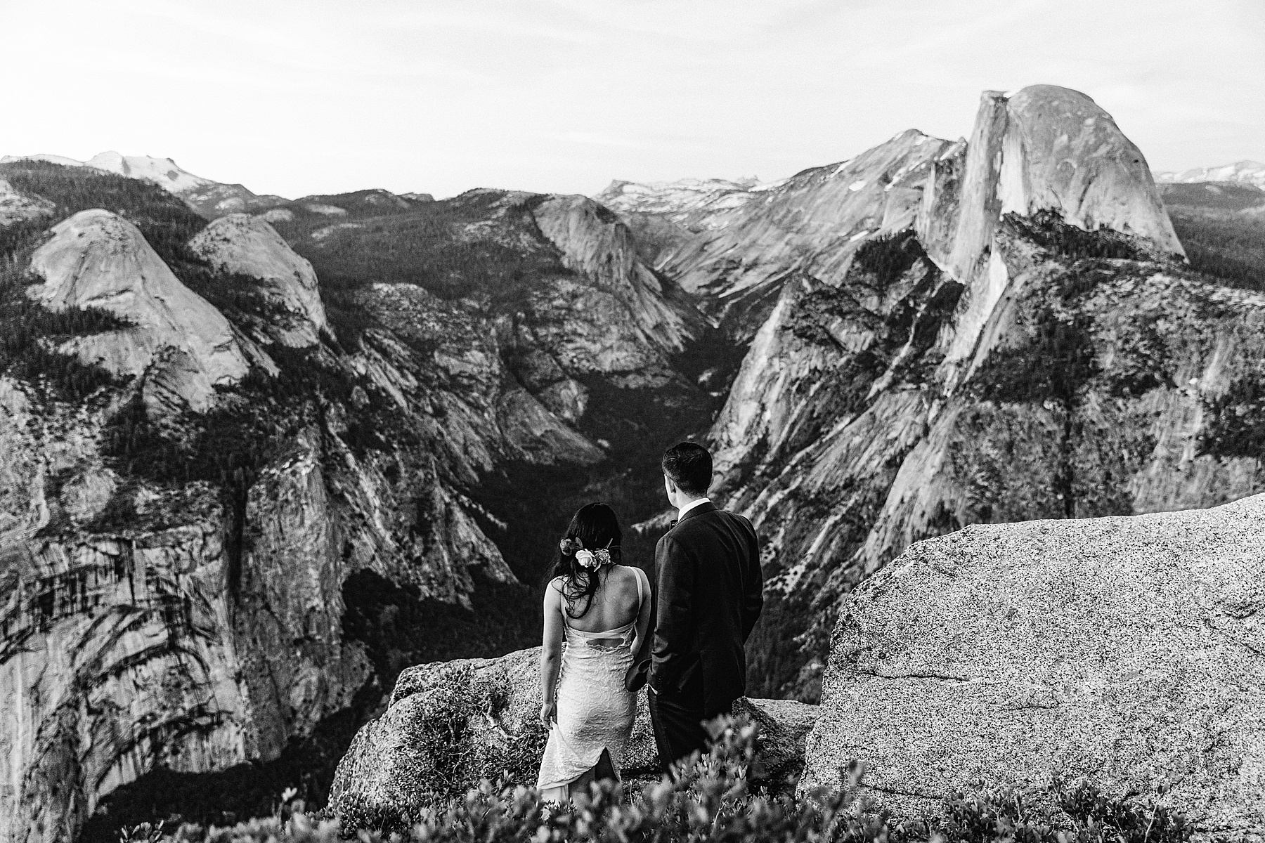 Glacier Point Wedding | Yosemite Elopement | California Elopement Photographer | Vow of the Wild