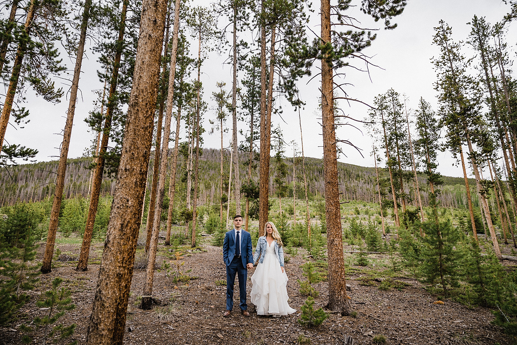 Breckenridge Intimate Wedding | Colorado Elopement Photographer + Videographer | Vow of the Wild