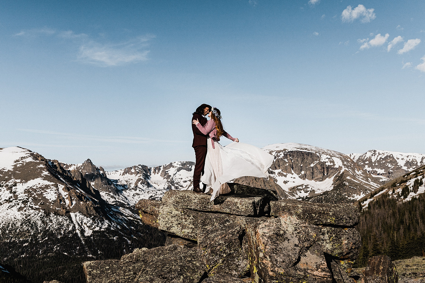 Colorado Elopement Photographer | Rocky Mountain National Park Elopement
